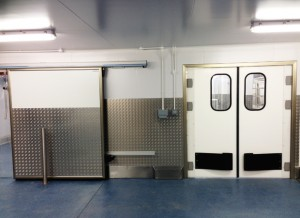 Sliding Door with Side Track