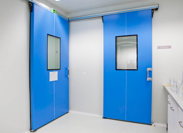 Portes Coulissantes pour Salle Blanche