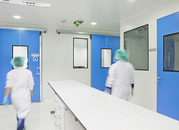 Châssis de Salle Blanche - Industrie Pharmaceutique