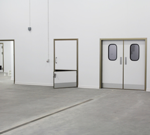 Interior Doors and Doors for Climate Controlled Rooms