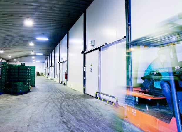 Automatic Industrial Sliding Doors