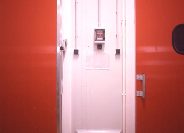 Porte de Service Coulissante