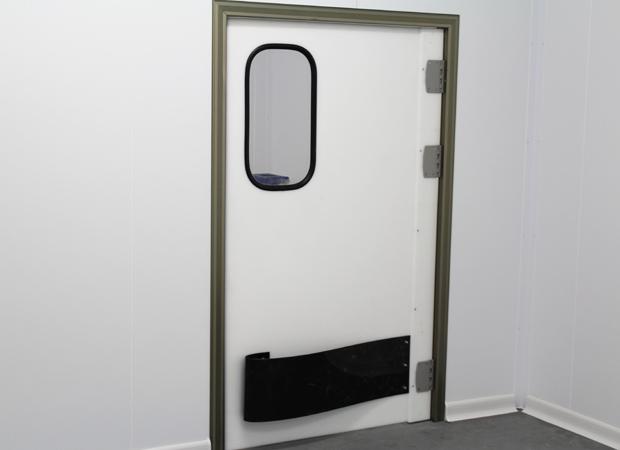 Porte battante - Polyéthylène de 15 mm