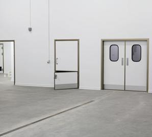 Portes d'Intérieur et de Salles Climatisées