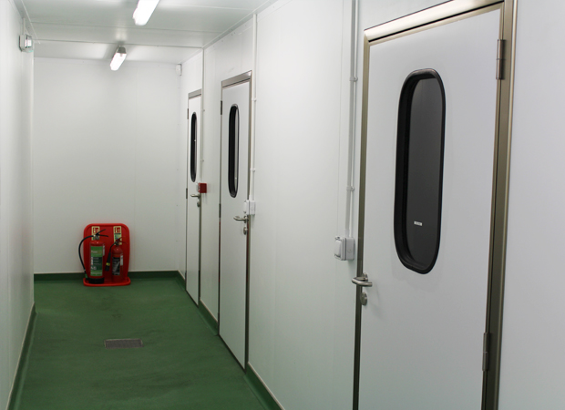 Hinged Service Doors