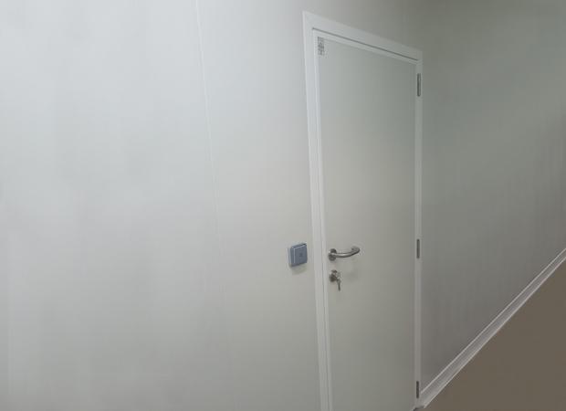 Hinged Service Doors