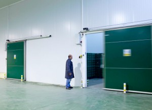 Portas Deslizantes Industriais Automáticas