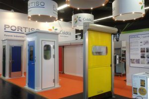 PORTISO exhibits in Climatización (Madrid 28/02-03/03/2017)