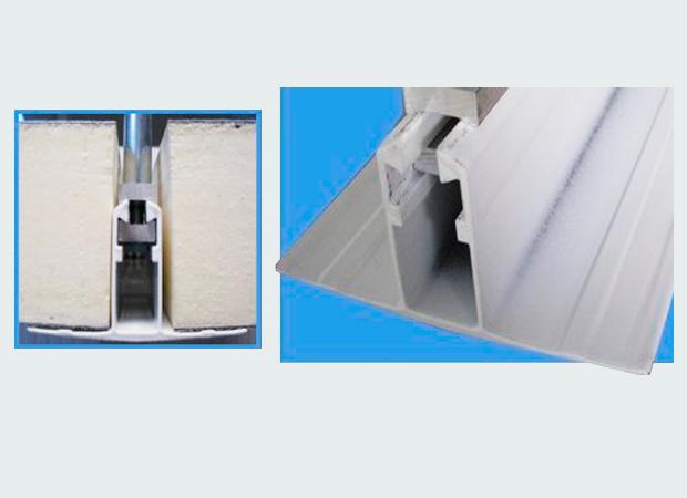 Perfil Aluminio Techo