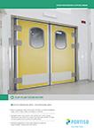 Food Processing & Office Areas Flip-Flap Door 40 mm
