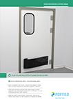 Food Processing & Office Areas Flip-Flap Polypropylene Door 15 mm