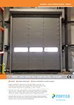PREAT - High-Speed Self-Inserting Roll-up Door