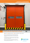 High-Speed Self-Inserting Roll-up Door