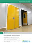 Food Processing & Office Areas Service Door